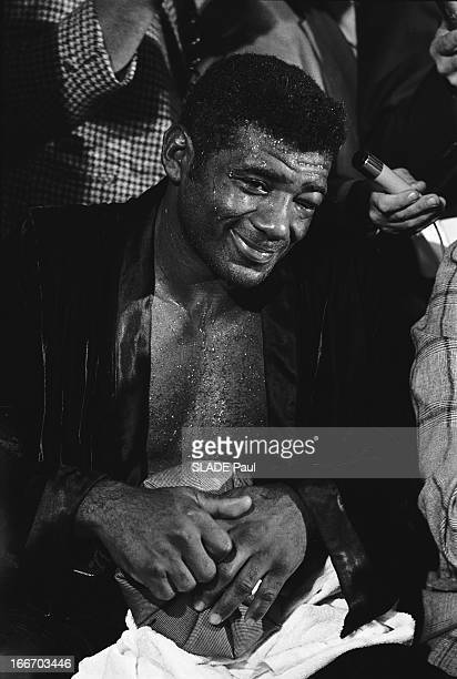Match Muhammad Ali Floyd Patterson At Madison Square Garden In New York Le 20 septembre 1972 combat pour le titre poids lourds de la NABF opposant...