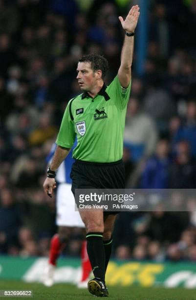 Match referee Mr M Clattenburg