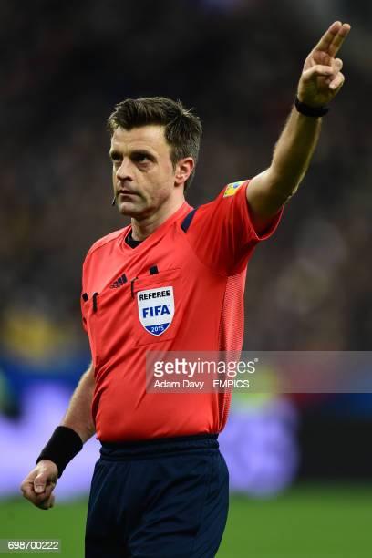 Match referee Nicola Rizzoli