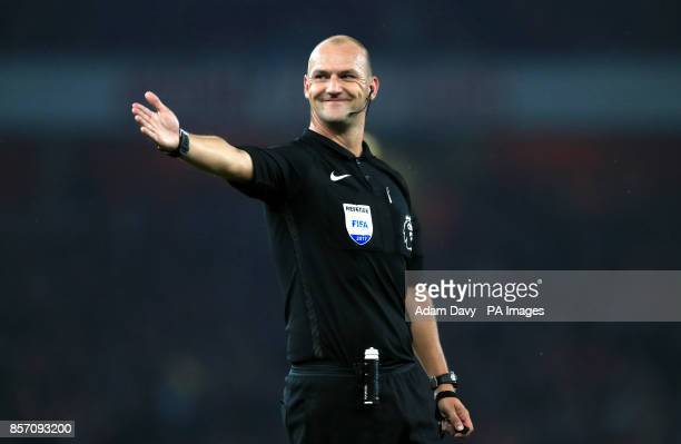 Match Referee Robert Madley