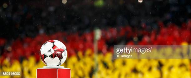 MatchBall are seen during the FIFA 2018 World Cup Qualifier between Germany and Azerbaijan at FritzWalter Stadium on October 8 2017 in Kaiserslautern...