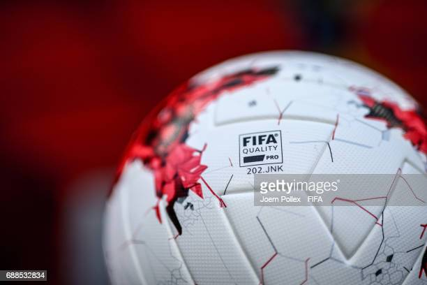 Matchball before the FIFA U20 World Cup Korea Republic 2017 group F match between Ecuador and Saudi Arabia at Incheon Munhak Stadium on May 25 2017...