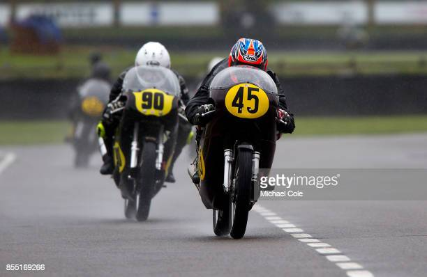 Matchless G50 ridden by entrant Sebastian Perez Scott Smart in the Barry Sheene Memorial Trophy at Goodwood on September 8th 2017 in Chichester...