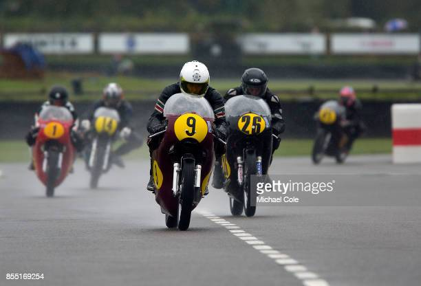 Matchless G50 ridden by entrant Tony Smith Sophie Smith in the Barry Sheene Memorial Trophy at Goodwood on September 8th 2017 in Chichester England