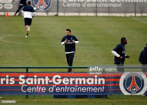 Mateja KEZMAN Entrainement du PSG Camp des Loges Saint Germain en Laye
