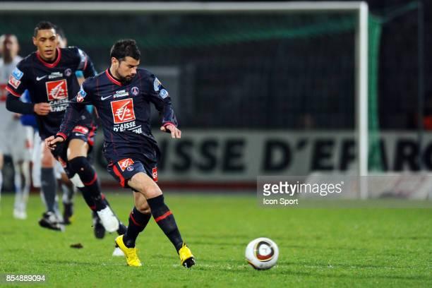 Mateja KEZMAN Auxerre / PSG 1/4 de finale de Coupe de France Stade Abbe Deschamps Auxerre
