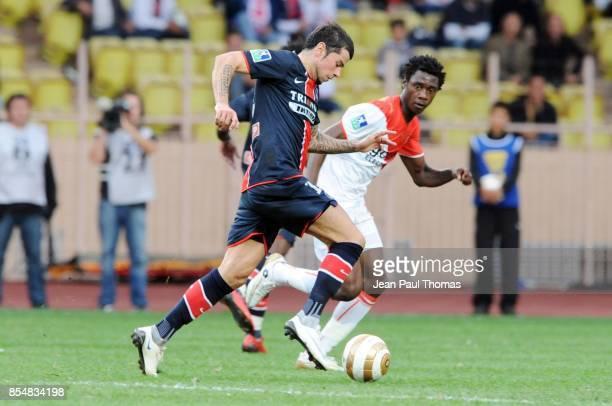 Mateja KEZMAN Monaco / PSG Coupe de la Ligue 2008/2009