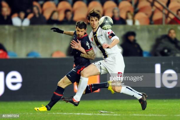 Mateja KEZMAN / Jeremy BRECHET PSG / Sochaux 28eme journee de ligue 1 Parc des Princes Paris