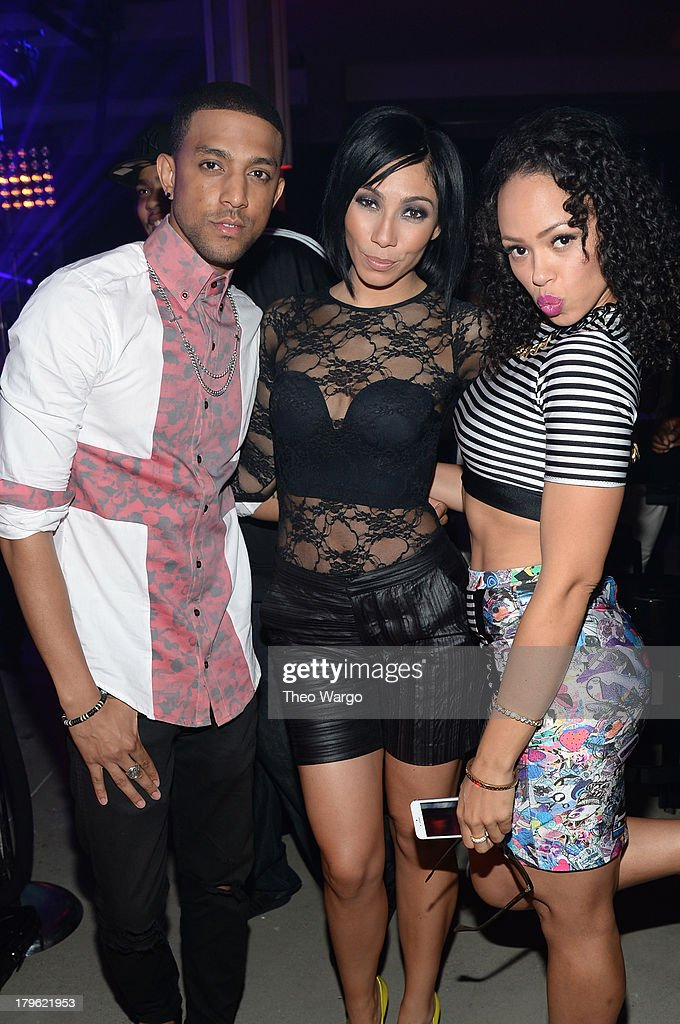 Mateo, Bridget Kelly, and <a gi-track='captionPersonalityLinkClicked' href=/galleries/search?phrase=Elle+Varner&family=editorial&specificpeople=5926946 ng-click='$event.stopPropagation()'>Elle Varner</a> attend the VEVO And Styled To Rock Celebration Hosted by 'Styled to Rock' Mentor Erin Wasson with Performances by Bridget Kelly & Cazzette on September 5, 2013 in New York City.