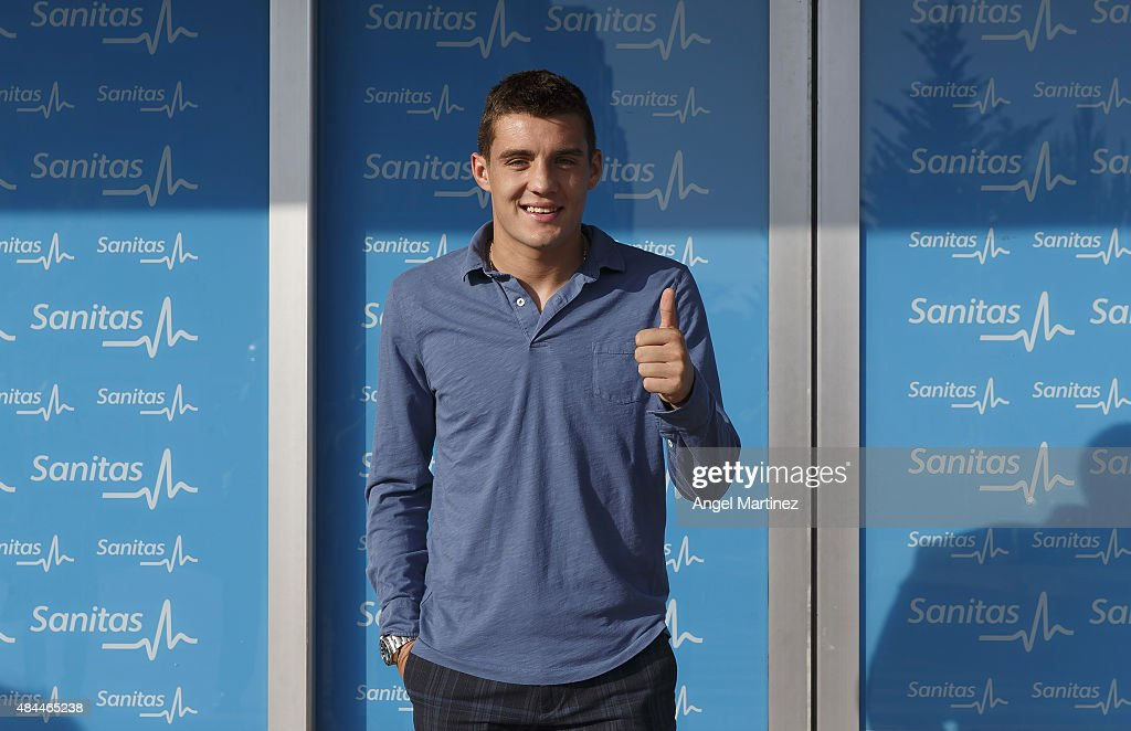 Real Madrid Unveil New Signing Mateo Kovacic