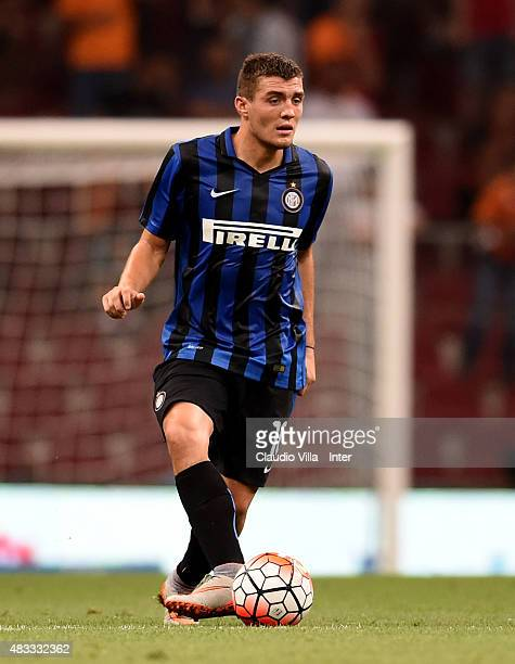 Mateo Kovacic of FC Internazionale in action during the preseason friendly match between Galatasaray AS and FC Internazionale at Ali Sami Yen Arena...