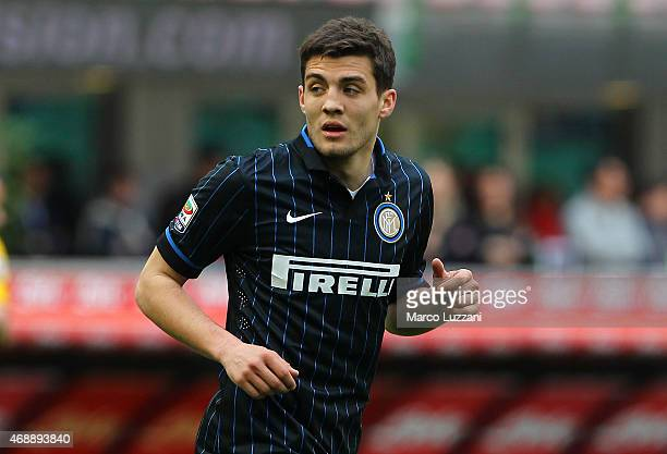 Mateo Kovacic of FC Internazionale Milano looks on during the Serie A match between FC Internazionale Milano and Parma FC at Stadio Giuseppe Meazza...