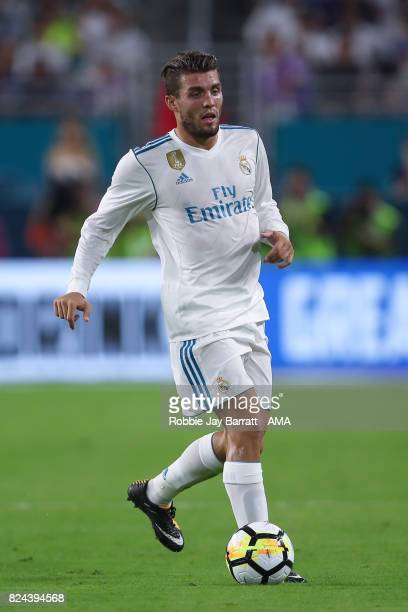 Mateo Kovacic of Real Madrid during the International Champions Cup 2017 match between Real Madrid and FC Barcelona at Hard Rock Stadium on July 29...