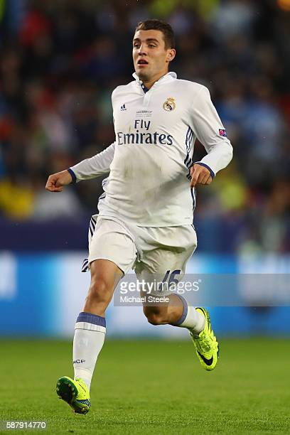 Mateo Kovacic of Real Madrid during the UEFA Super Cup match between Real Madrid and Sevilla at Lerkendal Stadium on August 9 2016 in Trondheim Norway