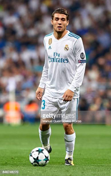 Mateo Kovacic of Real Madrid in action during the UEFA Champions League group H match between Real Madrid and APOEL Nikosia at Estadio Santiago...