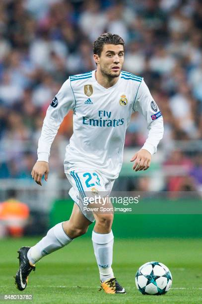 Mateo Kovacic of Real Madrid in action during the UEFA Champions League 201718 match between Real Madrid and APOEL FC at Estadio Santiago Bernabeu on...