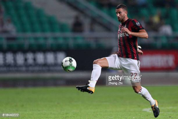 Mateo Musacchio of AC Milan in action during the 2017 International Champions Cup football match between AC Milan and Borussia Dortmund at University...