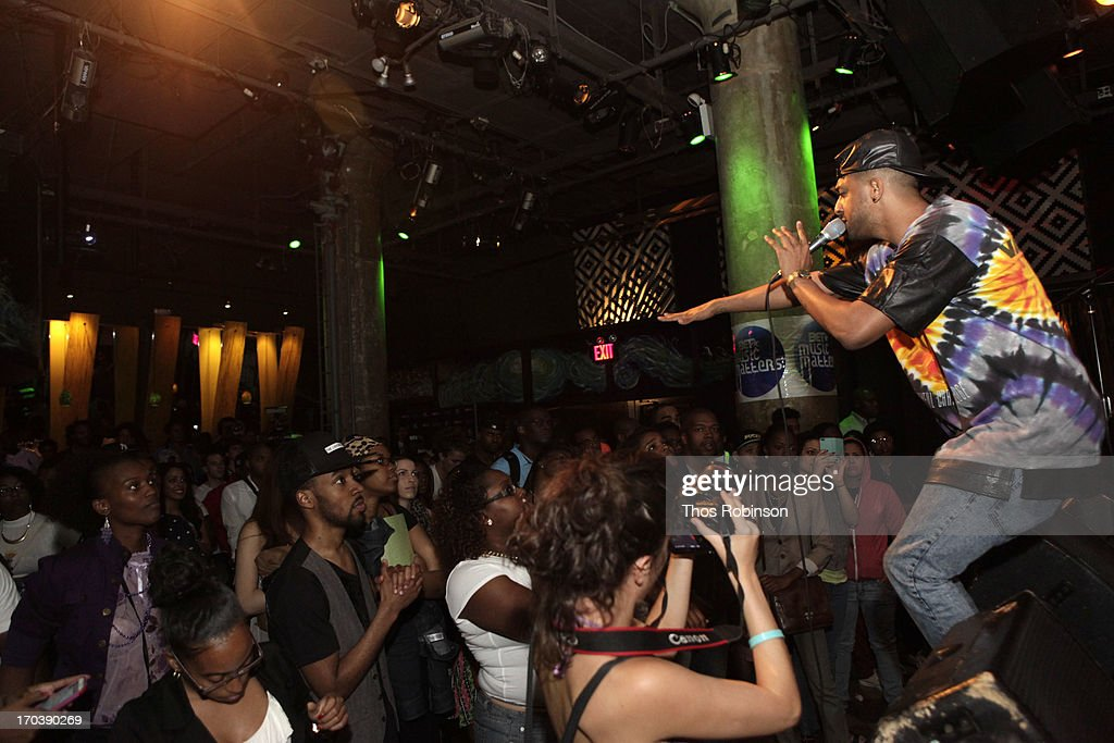 Mateo performs at BET's Music Matters Showcase at SOB's on June 11, 2013 in New York City.