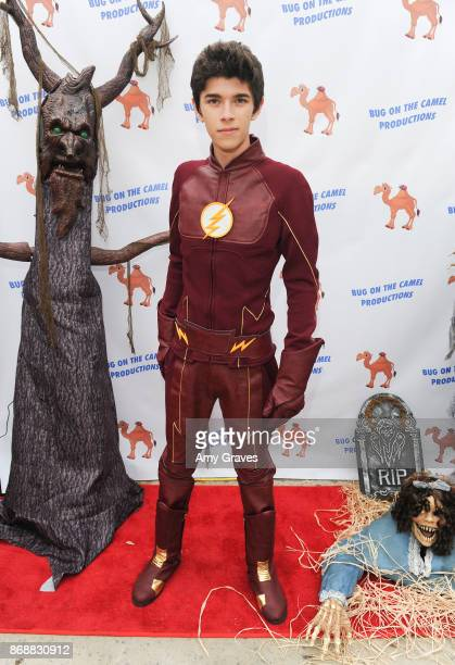 Mateo Simon attends the Annual Halloween Party Hosted by Piper Madison and Skylar Fayre on October 31 2017 in Los Angeles California