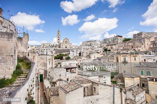 Matera, Italy : Stock Photo