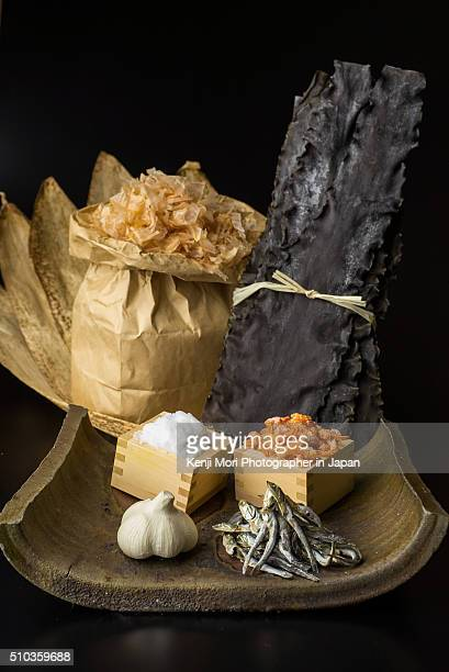 Material of soup stock of Japanese cuisine