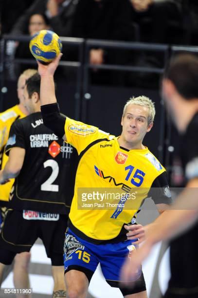 Mateusz JACHLEWSKI Chambery / Vive Targi Kielce Ligue des Champions Phare Chambery