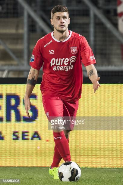 Mateusz Klich of FC Twenteduring the Dutch Eredivisie match between FC Twente and Willem II Tilburg at the Grolsch Veste on March 04 2017 in Enschede...