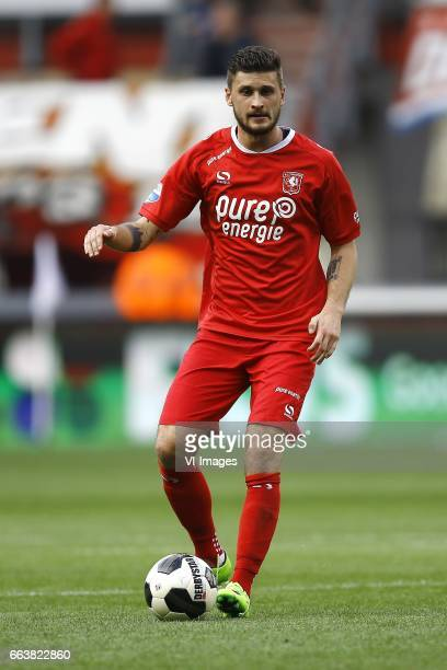 Mateusz Klich of FC Twenteduring the Dutch Eredivisie match between FC Twente and Go Ahead Eagles at the Grolsch Veste on April 02 2017 in Enschede...