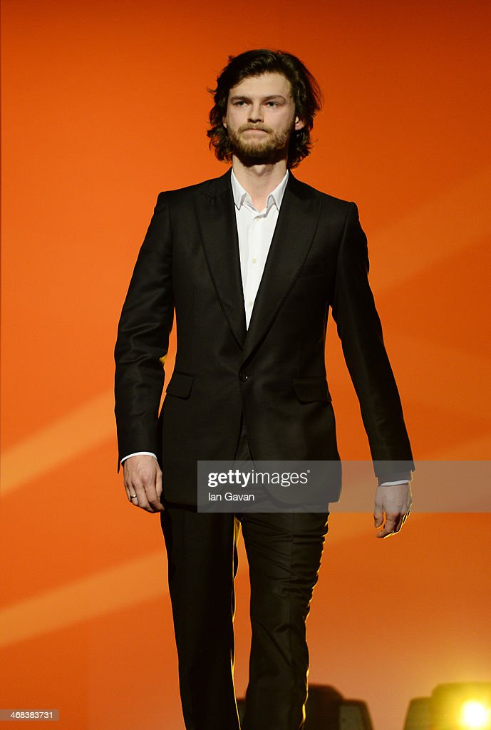 Mateusz Kosciukiewicz on stage at the Shooting Stars stage presentation during the 64th Berlinale International Film Festival at the Berlinale Palast on February 10, 2014 in Berlin, Germany.