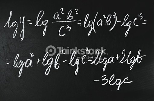 Mathematical Analysis Logarithming Stock Photo   Thinkstock