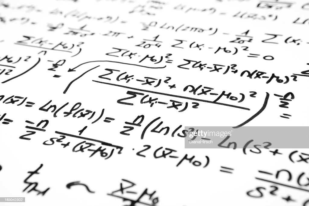 mathematical statistical hypothesis test : Stock Photo