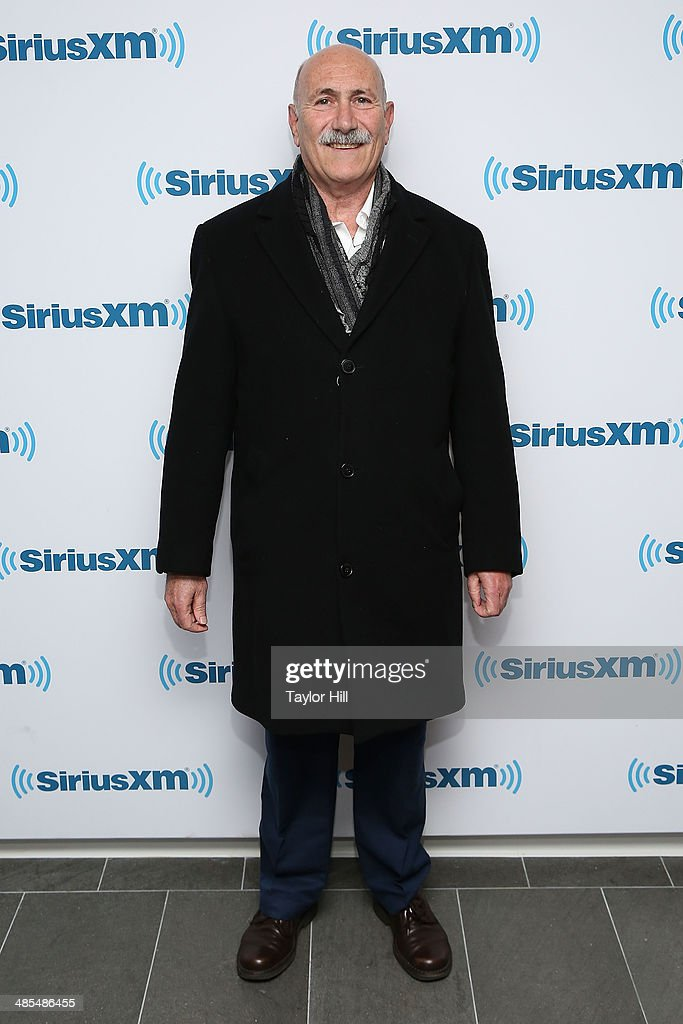 Mathematician and author Amir Aczel visits the SiriusXM Studios on April 18, 2014 in New York City.