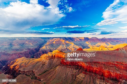 Mather Point, View Point, Grand Canyon National Park, Arizona, U : Stock Photo