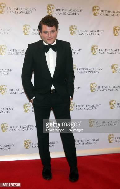 Mathew Horne attending the British Academy Video Games Awards at the London Hilton Park Lane London