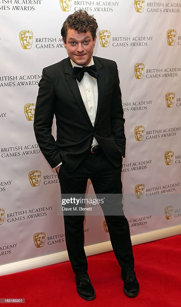 <a gi-track='captionPersonalityLinkClicked' href=/galleries/search?phrase=Mathew+Horne&family=editorial&specificpeople=4823524 ng-click='$event.stopPropagation()'>Mathew Horne</a> attends The British Academy Games Awards at London Hilton on March 5, 2013 in London, England.