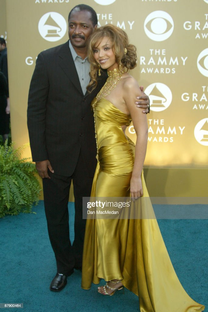 Mathew Knowles and daughter Beyonce