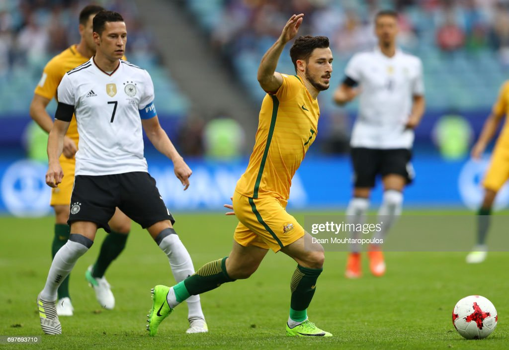 Australia v Germany: Group B - FIFA Confederations Cup Russia 2017 : News Photo