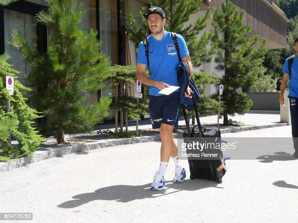 Mathew Leckie of Hertha BSC during a training camp on July 31 2017 in Schladming Austria