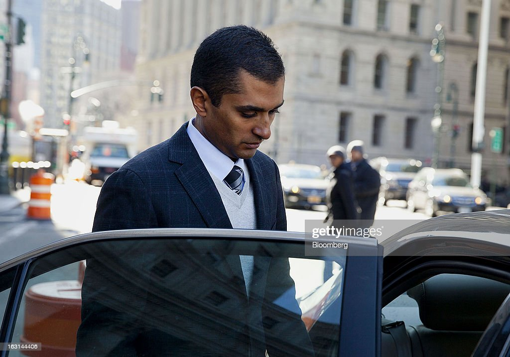 Mathew Martoma, a former portfolio manager at a unit of SAC Capital Advisors LP, exits federal court in New York, U.S., on Tuesday, March 5, 2013. The judge presiding over the insider trading prosecution of former SAC Capital Advisors LP fund manager Mathew Martoma granted his defense lawyer 90 days to review government evidence in the case. Photographer: Jin Lee/Bloomberg via Getty Images