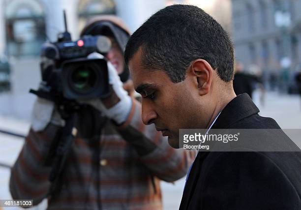 Mathew Martoma a former portfolio manager with SAC Capital Advisors LP arrives at federal court in New York US on Tuesday Jan 7 2014 Martoma whose...