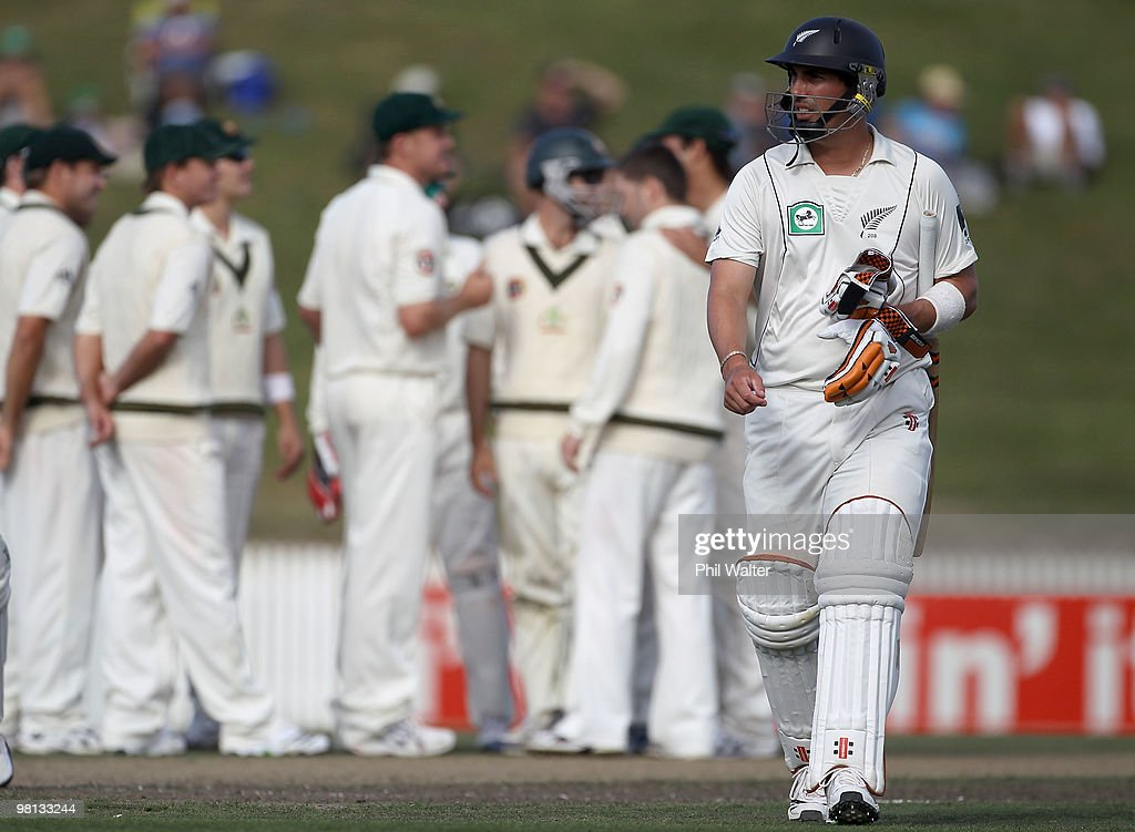 Second Test - New Zealand v Australia: Day 4