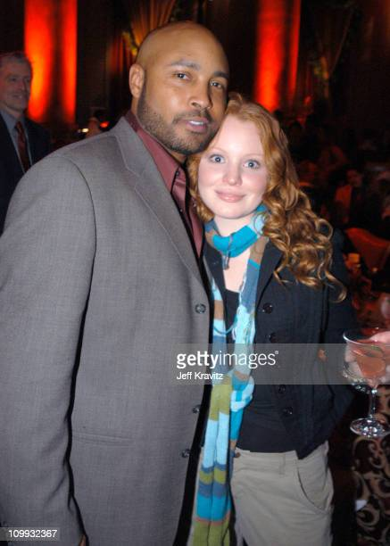 Mathew St Patrick and Lauren Ambrose during HBO's Six Feet Under Third Season World Premiere After Party at Capitale in New York City New York United...