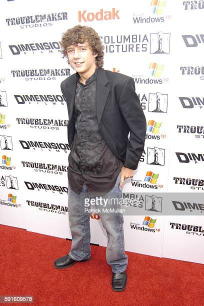 Mathew Underwood attends 'The Adventures of Shark Boy and Lava Girl 3D' Los Angeles Premiere at El Capitian Theater on June 4 2005 in Hollywood CA
