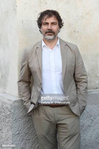 Mathias Augustyniak attends a 'Private view of 'TV 70 Francesco Vezzoli Guarda La Rai' at Fondazione Prada on May 7 2017 in Milan Italy