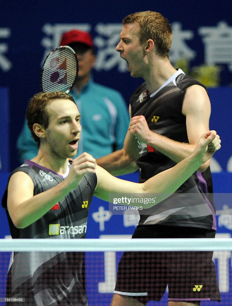 Mathias Boe L and Carsten Mogensen R