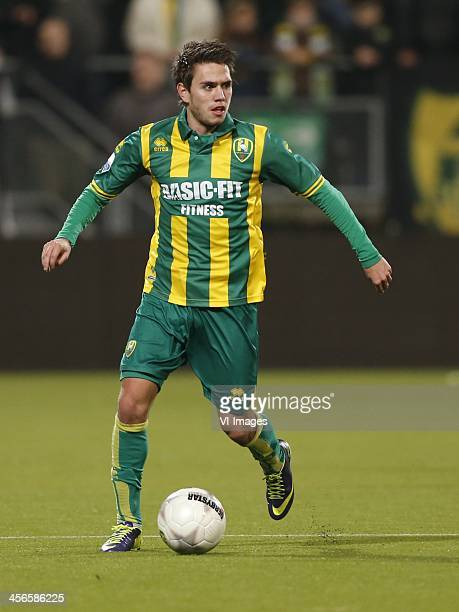 Mathias Gehrt of ADO Den Haag during the Dutch Eredivisie match between ADO Den Haag and RKC Waalwijk on December 14 2013 at the Kyocera stadium in...