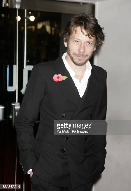 Mathieu Amalric arrives for the World premiere of 'Quantum Of Solace' at the Odeon Leicester Square WC2