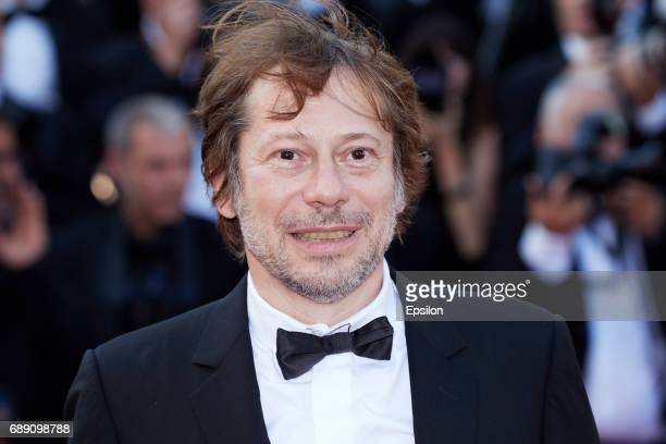 Mathieu Amalric attends the 'Based On A True Story' screening during the 70th annual Cannes Film Festival at Palais des Festivals on May 27 2017 in...