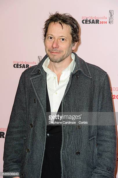 Mathieu Amalric attends the 'Le Fouquet's' Dinner after the 39th Cesar Film Awards 2014 at Le Fouquet's in Paris