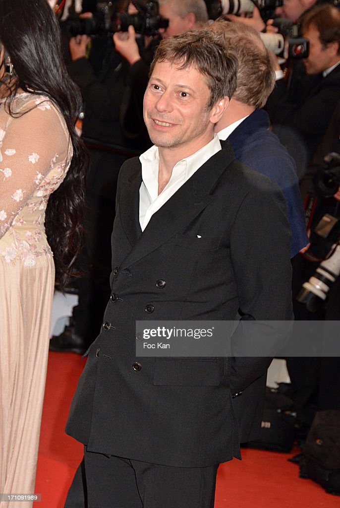 Mathieu Amalric attends the Premiere of 'Jimmy P. (Psychotherapy Of A Plains Indian)' at Palais des Festivals during The 66th Annual Cannes Film Festival on May 18, 2013 in Cannes, France.